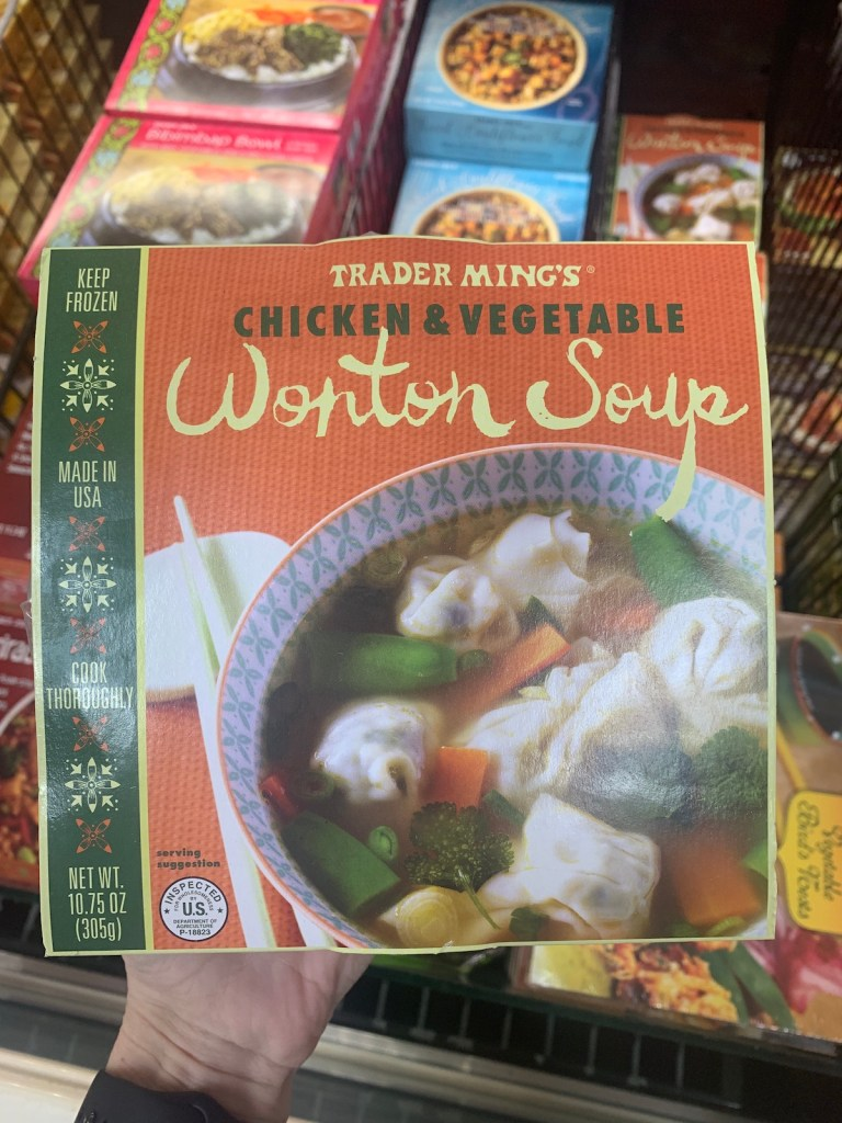 Best Trader Joe's Quick Meals: Chicken & Vegetable Wonton Soup