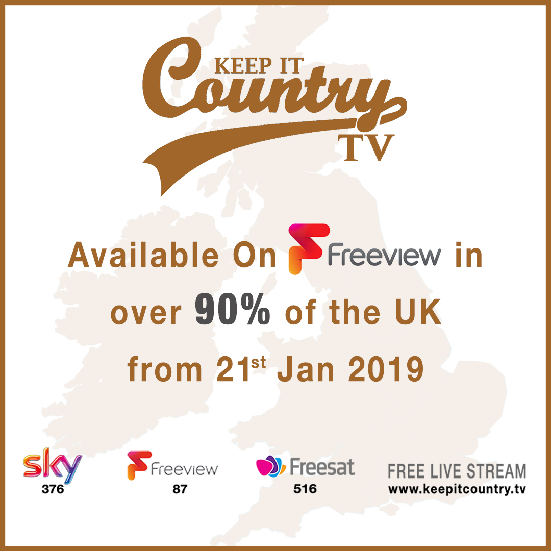 Keep It Country TV on Full Freeview - Keep It Country TV