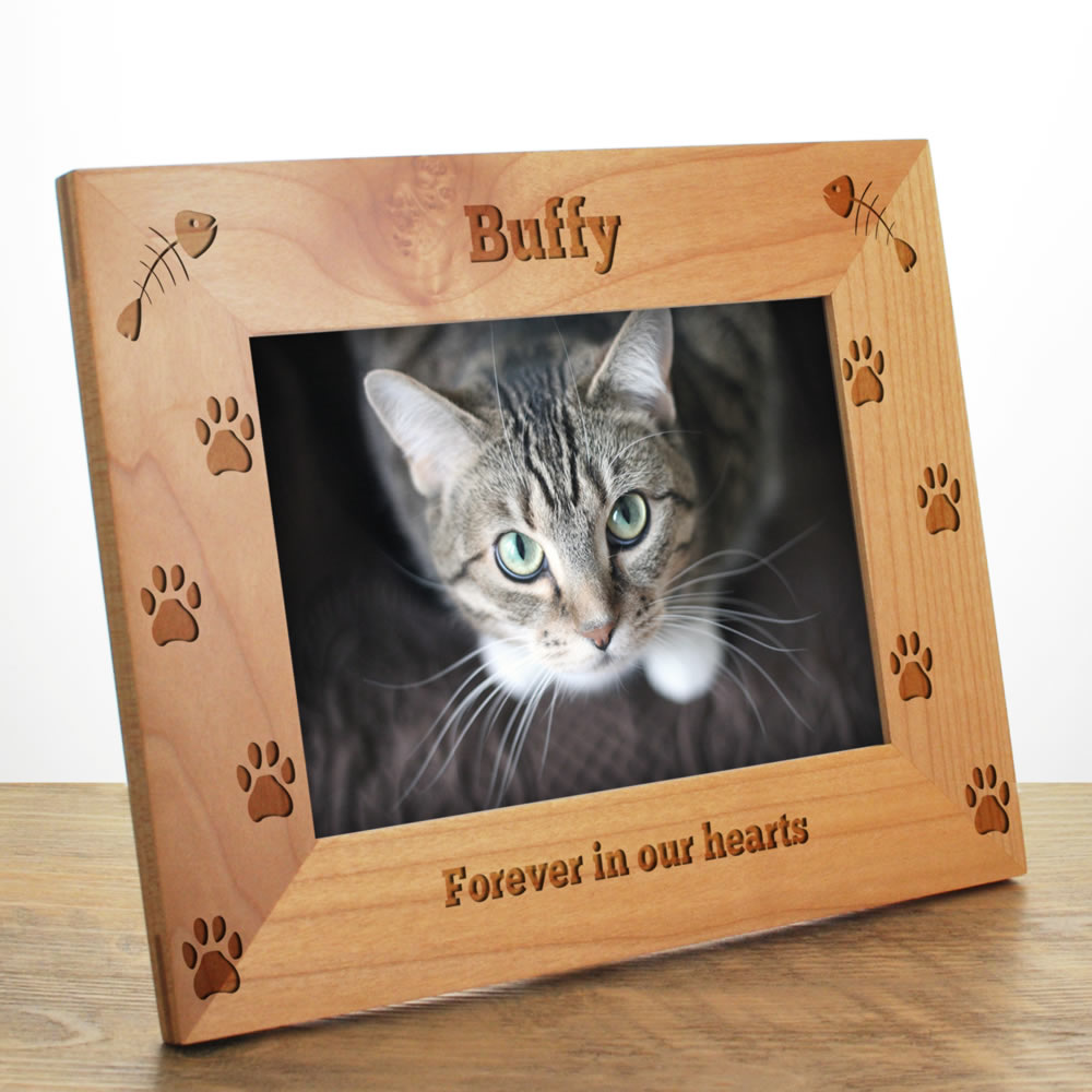 Cat Personalised Photo Frame 10613 1274 Keep It