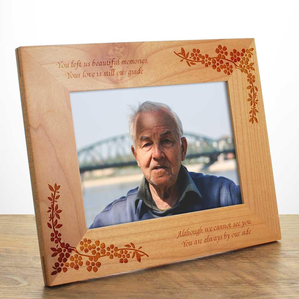 Personalised Engraved Memorial Photo Frame