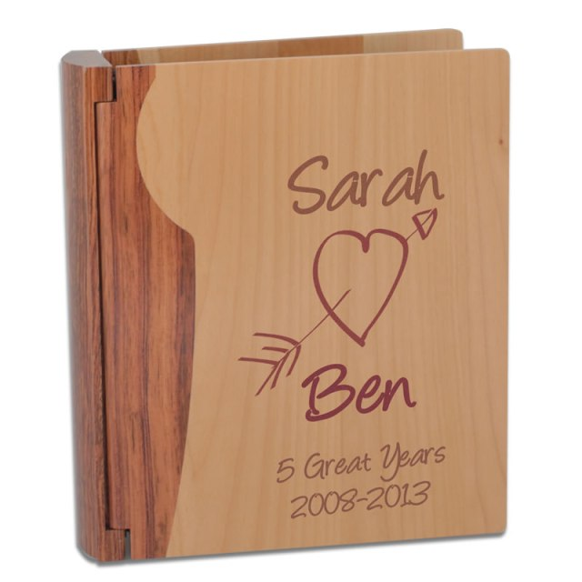 Home / Anniversary / Wooden Anniversary Gifts / Personalised Wooden ...
