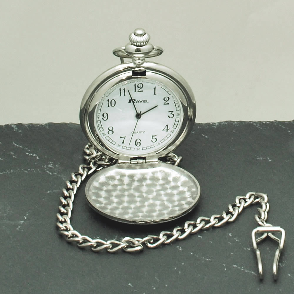 Personalised Pocket Watch Engraved Watch Wedding Gift