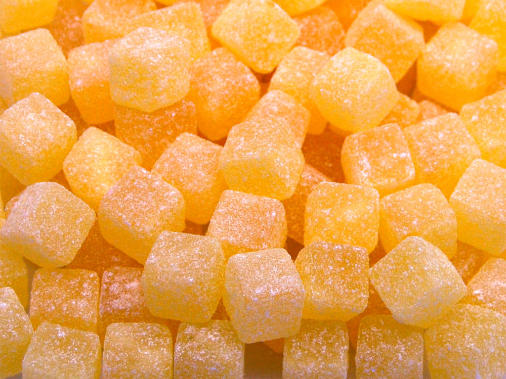 Pineapple Chunks And Pineapple Cubes Sweets Keep It Sweet