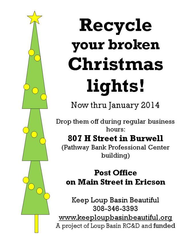 Recycle Christmas Lights.Christmas Lights