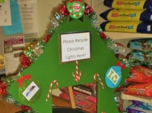 KLBB - 2014 Christmas light recycling