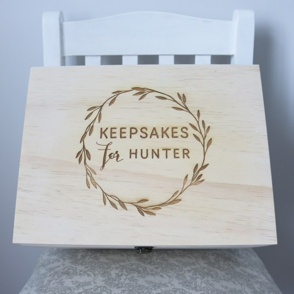 Custom Keepsake Box