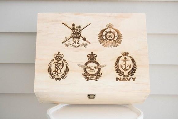 NZ Defence Keepsake Box
