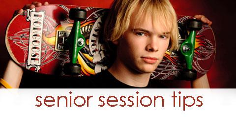 Senior Session Tips