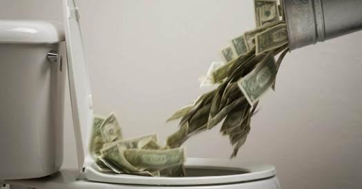 5 причин потери денег