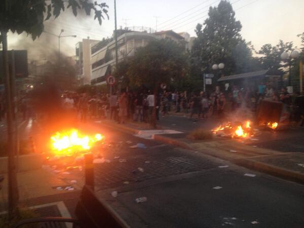 Keratsini protests1