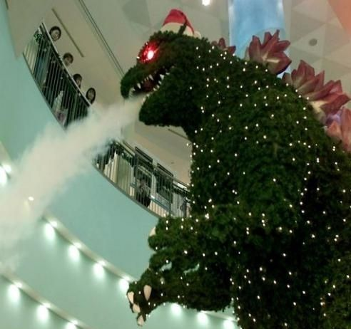 austerity godzilla lives right next door image result for merry christmas cards