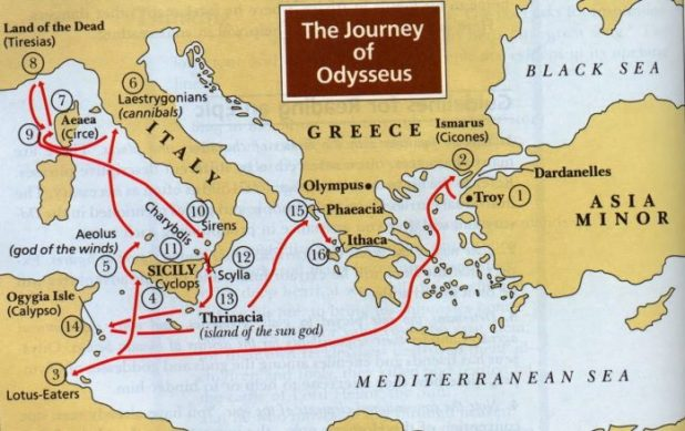 Event: Locals revive the Journey of Odysseus in the Ionian Sea