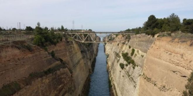Corinth Canal open to marine traffic, says managing company