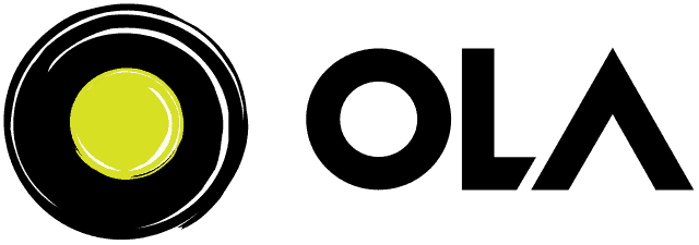 Logo of Ola Cabs