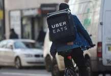UberEATS driver