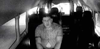 Photo of suspect who indecently assaulted a sleeping woman in a Gold Coast taxi.