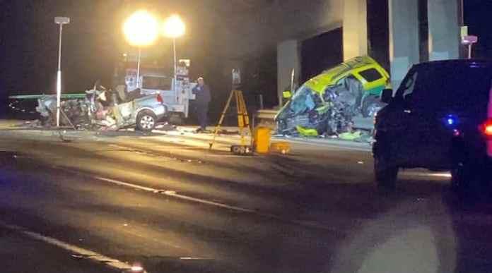 Chicago wrong-way crash involving taxi driver