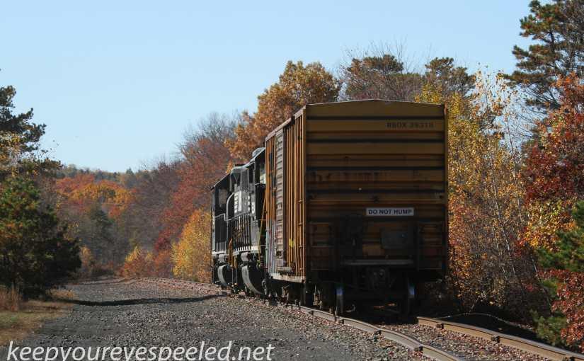 A Fall Hike On The Railroad Tracks.