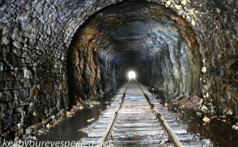 Another Walk into Our Coal Mining Past. The Jeddo Tunnel  And Another Long Abandoned Spur Of The D. S. & S. Railroad.
