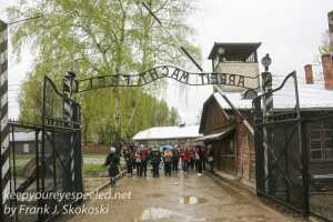 Auschwitz buildings one -6