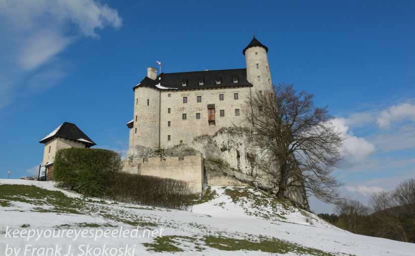 Poland Day Thirteen: Krakow To Warsaw:  Snow, Castles, Czestochowa  And A Change Of Plans