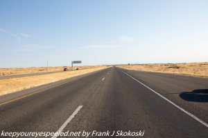 Route 93 highway near Twin Falls Idaho