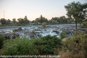 waterfalls on Snake River Idaho Falls Idaho