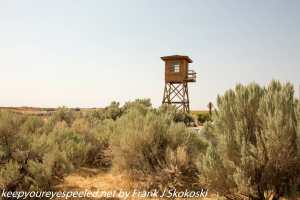 guard tower Minidako Idaho