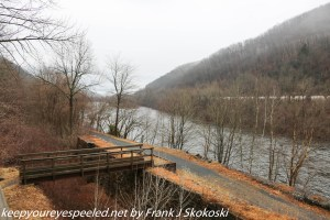 Lehigh River from observation deck