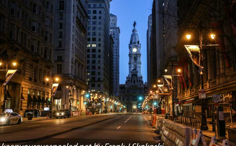 A Frigid Walk Through  Downtown Philadelphia.