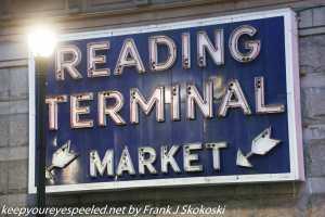 Reading Terminal sign Philadelphia