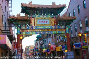 Arch in Chinatown Philadelphia