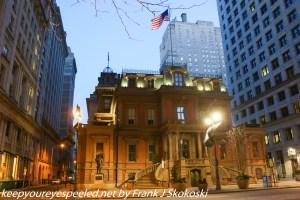 view from Broad Street Philadelphia