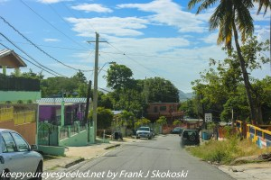houses in village outside Guanica