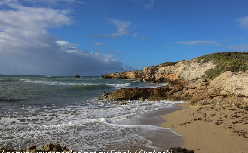 Puerto Rico Day Four: A Morning Walk Along My Own Private  Ocean And Beach