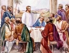 Laatste avondmaal mat discipelen