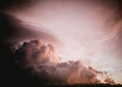 voorbode voor storm