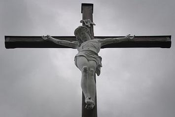 Aan de voet van het kruis