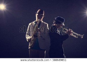 Blue gospelband