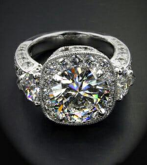 Reset Remount Diamond Engagement Ring Boston Keezing