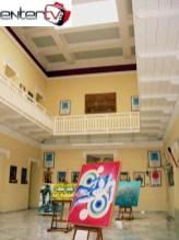 Άποψη της έκθεσης στο Μουσείο Καλλιμάρμαρου Σταδίου