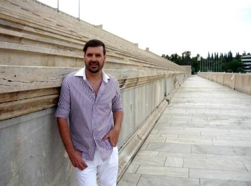 Ο Μιχαήλ Ρωμανός στο Καλλιμάρμαρο Στάδιο