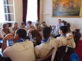 Επίσκεψη Προσκοπικής Ομάδας στο Δημαρχείο