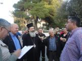 Επίσκεψη στην Έρισσο Δήμαρχου και Μητροπολίτη