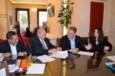 Υπεγράφη η σύμβαση για την Πλατεία Βαλλιάνου