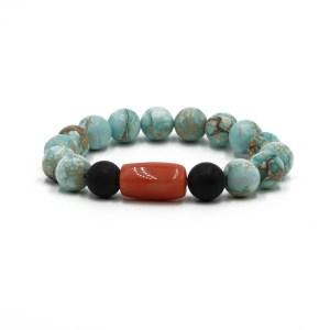 Bracelet- Turqoise Jasper beads