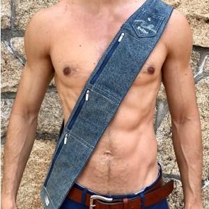 KeFigo Sash with pockets jeans denim unisex