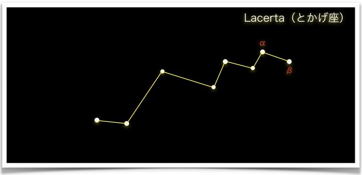 Lacerta(とかげ座)
