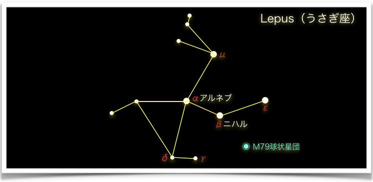 Lepus(うさぎ座)
