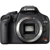 Canon EOS Rebel T1I Digital SLR Camera Body {15.1 M/P} - With Battery